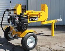 22-Ton DualStroke Log Splitter B&S208cc w/4-WayWedge and Cradle