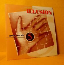 Cardsleeve Single CD ILLUSION Geef Me De 5 2TR 1996 Vlaamse Pop