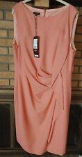 Escada Black Label Darlina Framboise Sleeveless Ruffle Dress Size 46 NWT $950