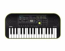 Casio SA-46 Keyboard 32 Minitasten Musik Anfänger Tasteninstrument schwarz/grün