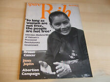Spare Rib Women's Liberation Feminist Magazine Number 37 July 1975