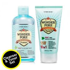 Fast Shipping from US - ETUDE HOUSE Wonder Pore Toner/Freshner(1) + Cleanser(1)