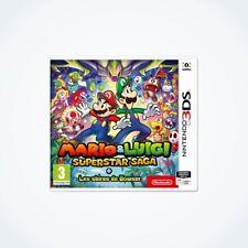 MARIO et LUIGI : Superstar Saga + Les sbires de Bowser sur 3DS / Neuf / VF