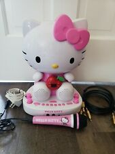 Hello Kitty Karaoke System Sing A Long Machine with Video Camera