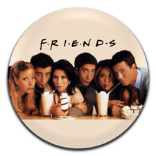 Friends TV 90's 25mm / 1 Inch D Pin Button Badge
