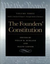 The Founders' Constitution: Article 1, Section 8, Clause 5, Through-ExLibrary