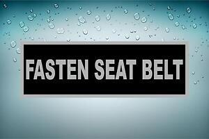 Sticker Car Aircraft Aviation Airport Fasten Seat Belt