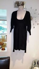 Influence at ASOS midi black  sparkle kitted dress. Used SIZE M