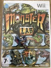 MONSTER LAB NINTENDO WII WIIU WII U FRANÇAIS NEUF BLISTER NEW SEALED