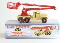 Dinky Supertoys No 977 Commercial Servicing Platform Vehicle - Meccano - England