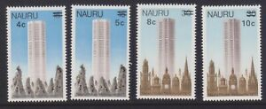 (F17-32) 1978 Nauru set of 4stamps O/Ps 4c to 10c (AG)