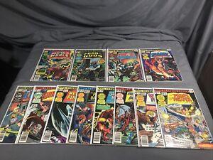 Marvel Classics Comics #21-24,26-33 Bronze Age