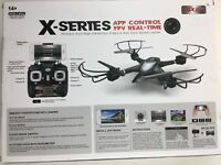 X-Series 2.4Ghz 6-axis Gyro Quadcopter RC Drone Wireless and HD Video FPV Camera