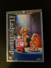 Lady and The Tramp, DVD, Blu-ray W/ Slipcover,  Lot B2.