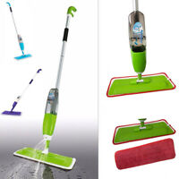 Spray Mop Floor Microfibre Water Spraying Cleaning Cleaner Hard Wood Tiles Kit