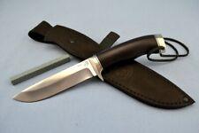 "Custom Elmax steel tactical hunter survival handmade knife ""Siberian trapper""  2"