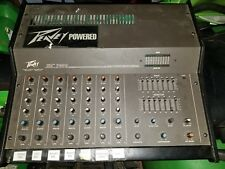 Peavey XR 700C Dual Powered Mixing Console 20-20,000 Hz Built-in Reverb Effects