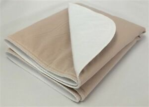 2-18x24 Ultra Washable Dog Training Puppy Pee Pads Potty Piddle Whelping TAN
