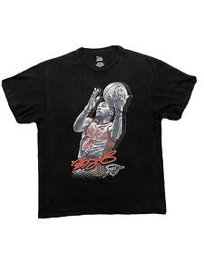 NBA Majastic Brand Kevin Durant OKC Thunder Graphic Print T Shirt XL-90's Style