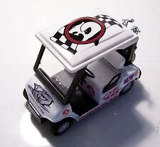 DIECAST GOLF CART BUGGY- Holden Racing Trolly,Clubs,Driver,Iron,Putter,Bag,Ball,