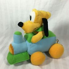 Disney Plush Pluto On Train Stuffed Animal Sega Prize Winning Toy