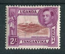 Kenya Uganda Tanganyika KGVI 1938-54 2s lake-brown & brown-purple SG146 mm
