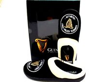 "MENS NEW OFFICIAL ""GUINNESS"" BLACK  MULE GIFT BOXED SLIPPERS SIZE 7/8,9/10,11/12"