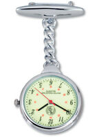 Prestige Medical Nurse Lapel Glow Watch With Military Time!