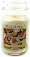 YANKEE CANDLE CHRISTMAS WISH ☆☆ Large 22oz Christmas & Holiday Scent Limited