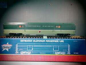"USA TRAINS EXTRUDED ALUMINUM PASSENGER CAR R310802 NP ""NORTHCOAST LTD BAGGAGE"