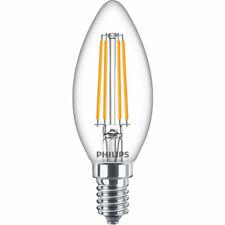 Philips Classic LED Kerze 6,5W E14 warmweiss B35 klar 8718699649128