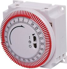 Bourne 16A 240VAC Manual Mains Timer Switch (S0045)