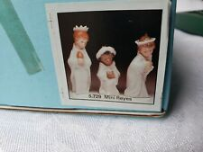 Lladro Ornament Collectable Mini Reyes Ornament Lot Set Of 3 Rare Spain #3