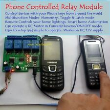 E66 DTMF Phone Voice Decoder Control Remote Switch & Delay Timer Home Automation