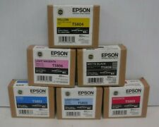 Genuine Epson Stylus Pro 3800(T5802,T5803,T5804,T5805,T5806,T5808) Free Shipping
