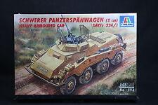 XT069 ITALERI 1/35 maquette tank 294 Schwerer Panzerspahwagen 2 cm SdKfz 234/1