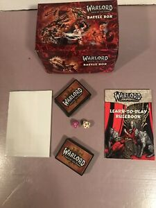 2001 Warlord Saga of the Storm Battle Box ***NEW*** X