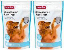 2 X 150G BEAPHAR GLUCOSAMINE TREAT ADULT SENIOR DOG JOINT BONE CARE SUPPLEMENT