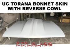 TORANA UC BONNET SKIN WITH REVERSE COWL  BONNET SCOOP FIBERGLASS