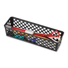 Officemate Supply Basket Stackable Long 3/Pk Black 26200