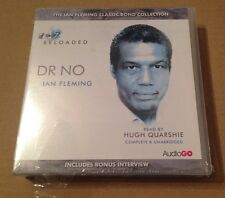 James Bond  007 DR. NO 8 Disc Cd Audio Book Box Set Hugh Quarshie SEALED!