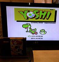 Yoshi - Nintendo Entertainment System - 1992 - NES - OriginalFast Shipping!!
