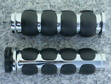 Harley Davidson Sportster Dyna Glide Softail Road King CHROME HAND GRIPS