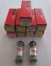7360 / 7752 / 7748 RCA Valve Tubes - USA -  NOS in original boxes
