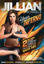 Jillian Michaels: Yoga Inferno  - DVD - NEW Region 4