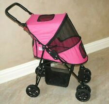 Pet Gear pretty Pink Dog Cat or other Pet Stroller - Truly Excellent Condition