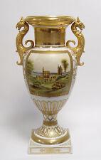 9973499-dss Porzellan Vase zweihenkelig H55cm