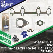 Gasket Joint Turbo VW Golf 1.9 TDI 100 105 110 115 CV 454232-0011 GT1749V-020