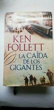 0620 - LIBRO KEN FOLLET LA CAIDA DE LOS GIGANTES TAPA DURA
