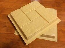 2 pc Plastic Molds for Concrete - Pavers Cement Forms